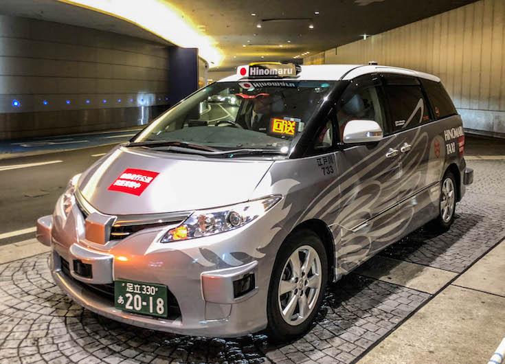 លើកដំបូងលើពិភពលោក – Taxi គ្មានមនុស្សបើកមានមុខនៅ Tokyo