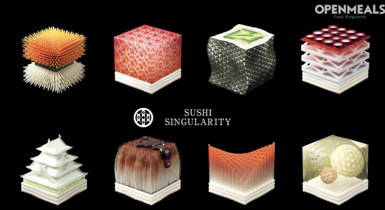 គំរូម្ហូប Sushi នៅឆ្នាំ ២០២០ តើអ្នកចង់ភ្លក់រសជាតិរបស់វាដែរឬទេ?