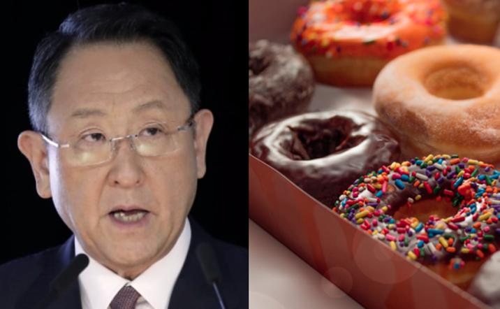 រៀនអំពីរបៀបក្លាយជាអ្នកថ្លែងសុន្ទរកថាប្រកបដោយជោគជ័យដូចជាប្រធាន Toyota Group ជាមួយនឹងនំ Donut