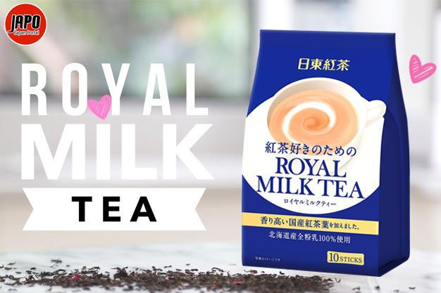 តែទឹកដោះគោ Royal Milk Tea ជប៉ុន