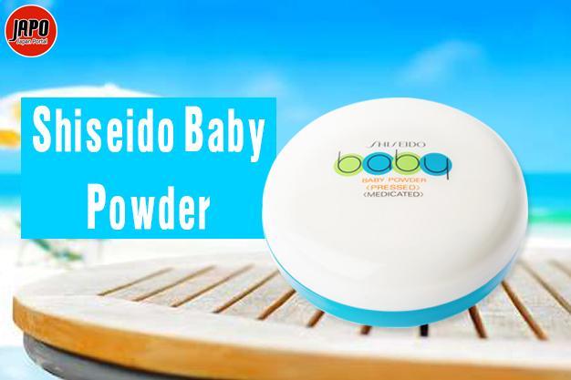 ម្សៅផាត់ Shiseido Baby Powder