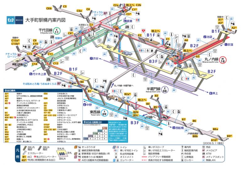 ខ្សែរថភ្លើងនៅ Tokyo គន្លឹះសម្រាប់អ្នកជិះរថភ្លើងនៅប្រទេសជប៉ុន